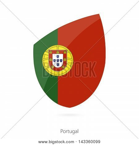 Flag Of Portugal. Portugal Rugby Flag.