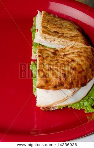 Deluxe Turkey Sandwich