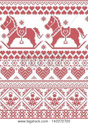 antique, arctic, background, card, christmas, craft, december, decorative, star, embroidery, heart, festive, forest, holiday, illustration, knit, nature, nordic, norwegian, ornament, pattern, religion, scandinavian, seamless, seasonal, simple, snow, snowf