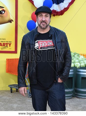 LOS ANGELES - AUG 09:  Joey Fatone arrives to the