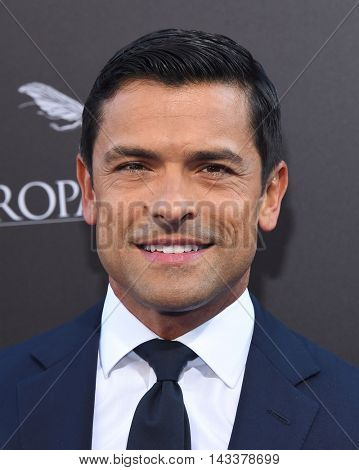LOS ANGELES - AUG 01:  Mark Consuelos arrives to the
