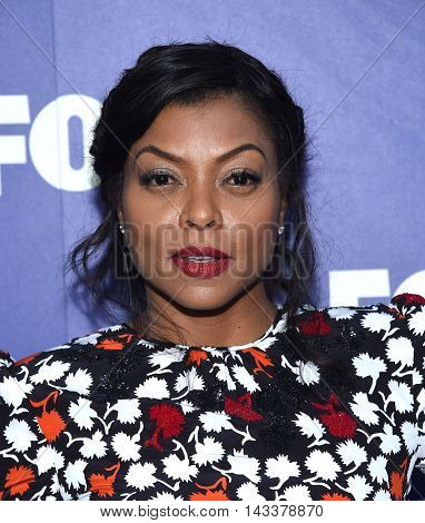 LOS ANGELES - AUG 08:  Taraji P. Henson arrives to the FOX Summer TCA Party 2016 on August 08, 2016 in West Hollywood, CA