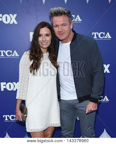 LOS ANGELES - AUG 08:  Gordon Ramsay & Tana Ramsay arrives to the FOX Summer TCA Party 2016 on August 08, 2016 in West Hollywood, CA