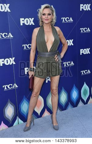LOS ANGELES - AUG 08:  Elaine Hendrix arrives to the FOX Summer TCA Party 2016 on August 08, 2016 in West Hollywood, CA