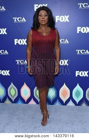 LOS ANGELES - AUG 08:  Lorraine Toussaint arrives to the FOX Summer TCA Party 2016 on August 08, 2016 in West Hollywood, CA