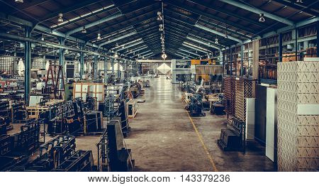 Photos of the material in the industrial production.