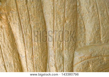 grunge golden wall texture and  background .