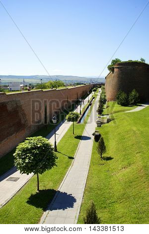 Alba Iulia Fortress, Romania, Europe