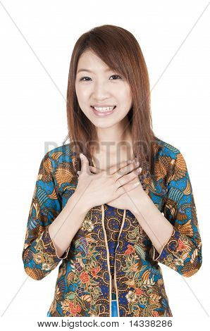 Traditional Malay Greeting