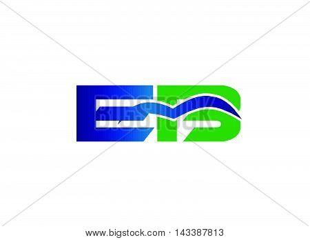 EB Logo. EB company linked letter logo