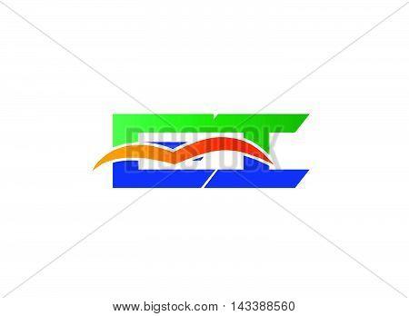 Ei Logo. Ei  company linked letter logo