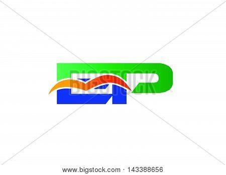EP Logo. EP company linked letter logo