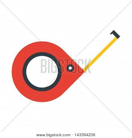 meter tool construction repair icon. Flat and Isolated design. Vector illustration