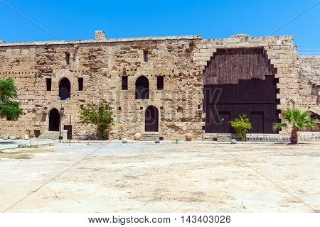 Inside Venetian Kyrenia Castle (16Th C.), North Cyprus