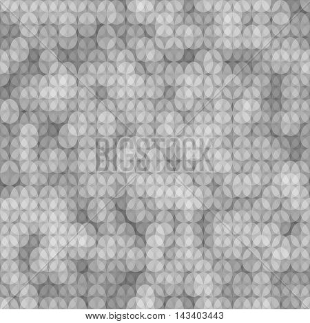 Seamless Grayscale Pattern Easter Card