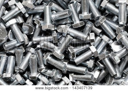 A lot of a fasteners ironworks bolts
