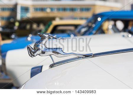 Nameplate Retro Car Gaz 21 Avtoarena In Cheboksary