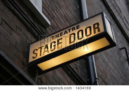 Bühneneingang