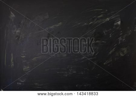 Clean chalk board surface - whiped out - medium toning for light or dark symbols and writing.