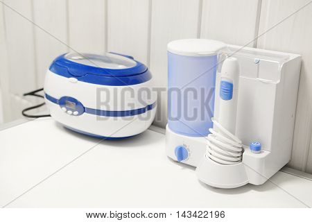 The image of a modern dental equipment