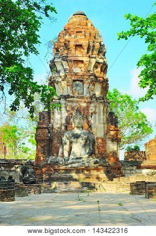 Statue Of Buddha. Thailand