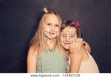 Love - Young Sisters portrait of Teen Girls