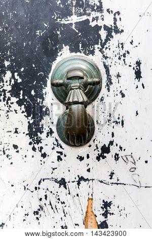 Antique Doorknocker From Tuscany