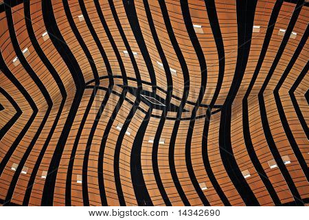 Abstract design from towerblock windows