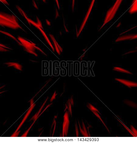 Red abstract marble background, futuristic fabric, silk texture with ambient occlusion effect for design concepts, presentations, web and prints. Vector illustration.