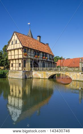 Entrance House Of The Steinfurt Castle