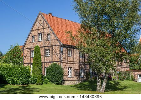 Historical House In The Kommende Of Steinfurt