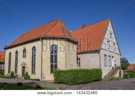 Historical Houses In The Kommende Of Steinfurt