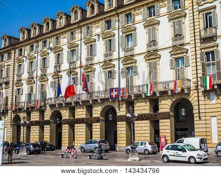 Palazzo Della Regione Building In Turin (hdr)