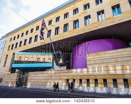 British Embassy In Berlin (hdr)