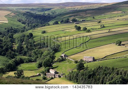 A view of the Yorkshire Dales near Marske
