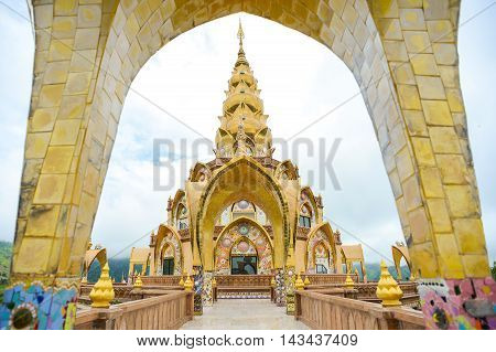 Wat Pha Sorn Kaew temple the public buddhist monastery and temple in Khao Kor Thailand