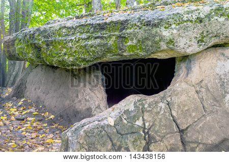 Prehistoric Neolithic Age European Dolmen