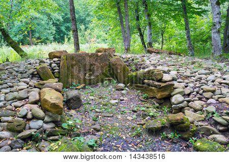 The Stones Of The Broken Ancient Dolmen