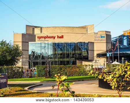 Symphony Hall In Birmingham (hdr)