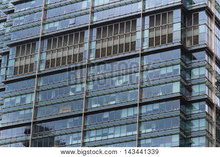 Wall Of Office Building