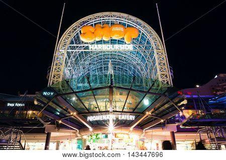Sydney Darling Harbour Promenade Shops