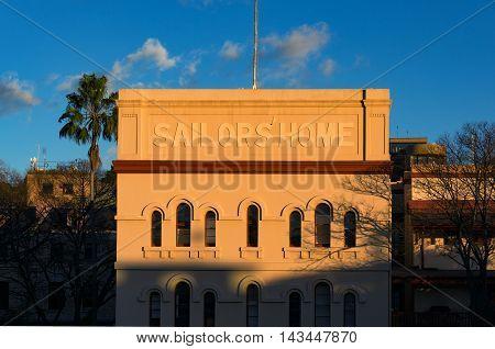 Sailor's Home Historic Building Exterior