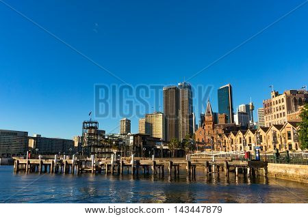 Campbells Cove Jetty And Cbd Views