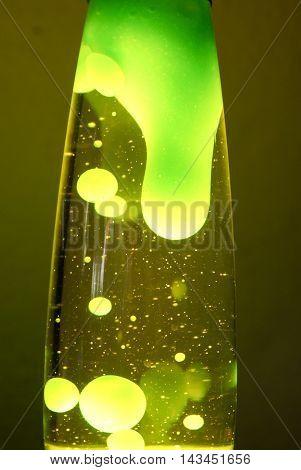 Green Lava Lamp Photograph