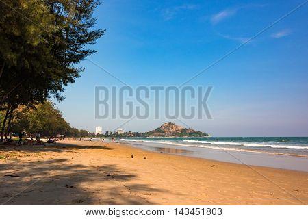 Thailand Beach In Hua Hin City