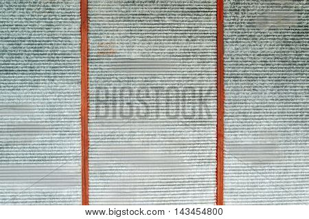 Obsolete grunge metal surface texture oxidized zinc plates as background