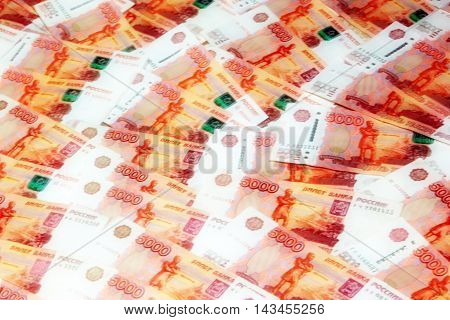 abstract background image of a Russian paper money