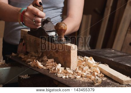 The Carpenter In The Workshop,