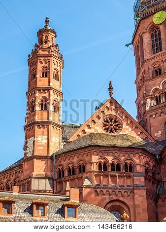 Mainz Cathedral Hdr