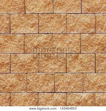 The cement brick wall background or texture